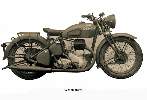 C Numbers – Military Motorcycles